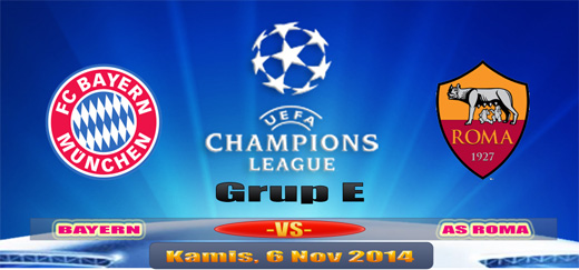 Bayern versus AS Roma