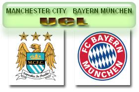 Manchester City vs Bayern Muenchen