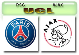 PSG vs AJAX