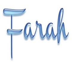 Nama keren Farah