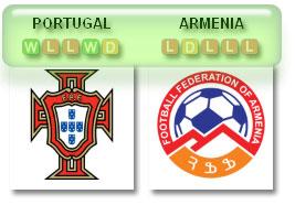 Portugal v Armenia