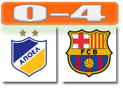 Skor UCL Messi Barcelona