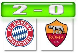 Hasil Bayern Roma