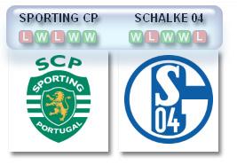 Sporting-v-Schalke