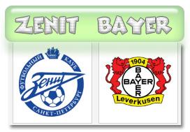 Zenit v Bayer Leverkusen