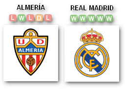 Allmeria-Real Madrid Liga Spanyol