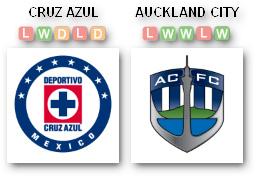 Cruz Azul v Auckland