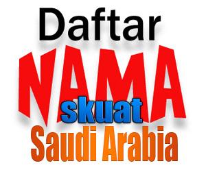 Skuat Saudi Arabia