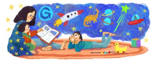 Gambar Google Rayakan Hari Ibu