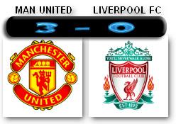 Skor MU-Liverpool