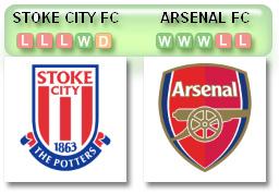 Stoke v Arsenal