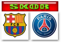 Skor Barca-PSG
