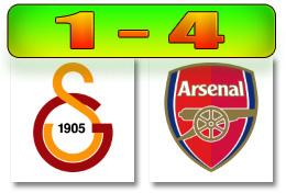 Skor Gala-Arsenal