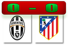 Skor Juve-Atletico