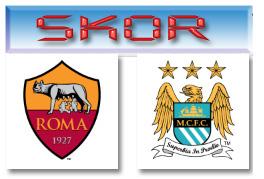 Skor Roma vs City